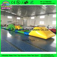 Quality Quality giant inflatable water park, inflatable commercial water park for sale for sale