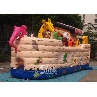 Wholesale Safety Noah's Ark Paradise Inflatable Combo Bounce House For Kids from china suppliers