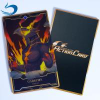 Buy cheap PET Both Side Printing 3D Lenticular Games Cards / 3D Playing Cards from wholesalers