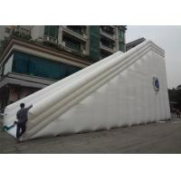 Wholesale Commercial PVC Vinyl Double Lane Kids Big Inflatable Slide For Kids And Adults from china suppliers