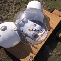 China 7x5m inflatable camping tent outdoor inflatable tent Inflatable transparent tent on sale