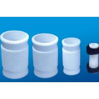 Wholesale White PTFE tube , 2.10g/cm³ PTFE Soft Joint / PTFE Material For Metal Tube from china suppliers