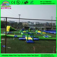 Buy cheap Best Selling Giant Inflatable Floating Water Park, Aqua Park Equipment, Water from wholesalers