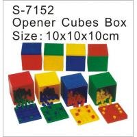 Wholesale Cubes, Educational Toy, Math Counting Toy Cubes, Opener Cubes Box (S-7152) from china suppliers