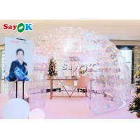 Wholesale Customized Printing Air Tight Clear Bubble Inflatable Dome Tent from china suppliers