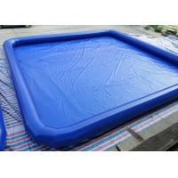 Wholesale Large Outside Heat Sealing Inflatable Square Pool For Adults 10m x 10m from china suppliers