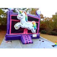 China Attractive Colorful Adult Size Bounce House Digital Printing For School Festivals on sale