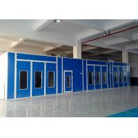 Wholesale Custom Side Draft Automotive Paint Spray Booth Coating Combined Mixing Room from china suppliers