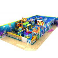 Wholesale Naughty Castle Kids Playground Equipment For Play Center , Outdoor Training Place from china suppliers