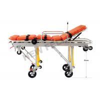Flexible Heavy Duty Big Ambulance Stretcher Chair Trolley , Folding Stretcher With Wheels