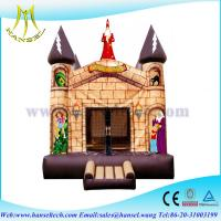 China Hansel inflatable commercial bounce house for sale for children in home on sale
