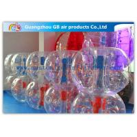 Wholesale PVC / TPU Outdoor Inflatable Bumper Ball Bubble Ball For Family Backyard Sport from china suppliers