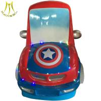 Wholesale Hansel fiberglass body coin game machine electric kiddie ride on car from china suppliers