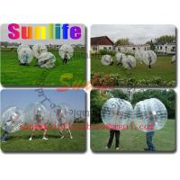 Wholesale inflatable soccer ball, bumper ball from china suppliers