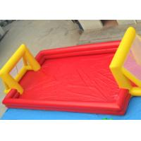 Wholesale Red Outdoor Football Playground Inflatable Sports Games For Kids from china suppliers