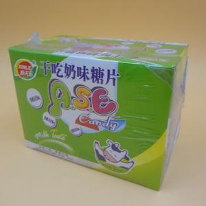 Healthier Round Milk Tablet Candy Good Taste Using Non - Dairy Creamer