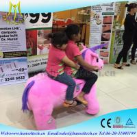 Wholesale Hansel mechanical horse kids rides and mall animal electric riders amusement park fairground rides for sale from china suppliers