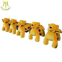 Buy cheap Hansel plush walking ride on car kids electric animal 2v ride on amusement park from wholesalers