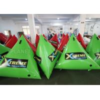 China 1.5m Airtight Triathlon Inflatable triangle buoy With D Rings on sale