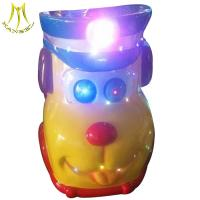 Wholesale Hansel 2018 latest coin operation indoor amusement dog design kidde ride from china suppliers