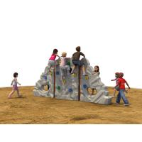 Wholesale Customized LLDPE Kids Climbing Wall Polyhedral Composite Rock from china suppliers