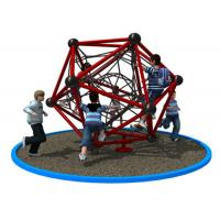 Wholesale Polygonal Shape Rope Climbing Structure With Long Warranty Period KP-PW033 from china suppliers
