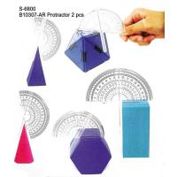 Wholesale Toy, Educatinal Toy, Teaching Aid, Smart Toy, Math Toy, Protractor (S-6800&B10307-AR) from china suppliers