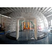 Wholesale PVC Combo Transparent Inflatable Dome Tent 8m Diameter For Party / Exhibition from china suppliers