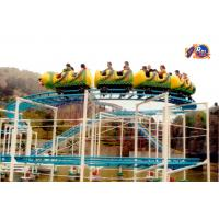 Buy cheap Public Playground Equipment Slides Junior Roller Coaster , 16 Persons from wholesalers