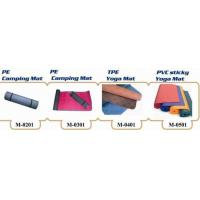 Wholesale Mat, PE Camping Mat, TPE Yoga Mat, PVC Sticky Yoga Mat (M-0201&M-0301&M-0401&M-0501) from china suppliers