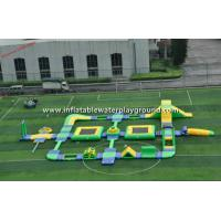 China Summer Fun Inflatable Water Parks For 95 Persons, Inflatable Water Tower Park on sale