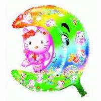 Wholesale Balloon in Moon with Cartoons, Special Shape and Three Different Designs, Attractive Colors from china suppliers
