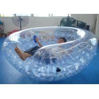Wholesale Outdoor Transparent Inflatable Coconut Balls Half Zorb For Water Games from china suppliers