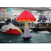 Quality 2m 16 Color LED Light Mushroom Inflatable Lighting Decoration For Advertising for sale