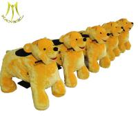 Buy cheap Hansel plush animal battery coin operated stuffed animal ride bear from wholesalers