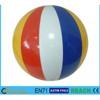 """Wholesale 16"""" Dia Giant Beach Ball,Rainbow Colored Plastic Beach Balls For Swimming Pools from china suppliers"""