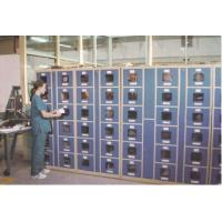 Wholesale Factory Intelligent Locker Systems 6 Tier Steel Body Transparent Door Anti UV Aging from china suppliers