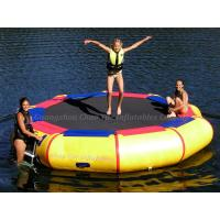 Wholesale Commercial Grade Inflatable Water Bouncer Trampoline for Water Park from china suppliers