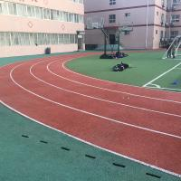 China CorrosionResistance Synthetic Rubber Flooring For Sports Court / Public Court on sale