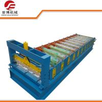 GI Steel Smart Metal Roof Forming MachineWith 0 - 15m / Min Forming Speed