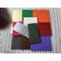 Wholesale PVDF Paint Aluminum Composite Material Exterior Cladding Materials For Buildings from china suppliers