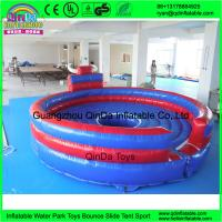 Wholesale Cheap price outdoor playground kids games inflatable chanical bull ride for sale shopping centers mechanical bull rodeo from china suppliers