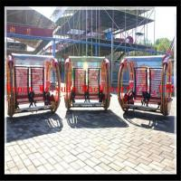 Wholesale canton fair play Crazy balance happy car card system arcade outdoor fitness equipment ride from china suppliers