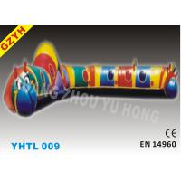 Wholesale EN14960 15*3.5*3m Carpenterworm Inflatable Sports Tunnel YHTL-009 for Rental Business from china suppliers