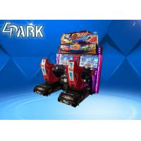 Wholesale Double Players Racing Game Machine Alloy Steel Structure With 1 Year Warranty from china suppliers