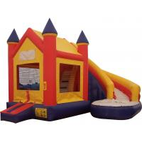 Wholesale Prince and Princess Inflatable combo / Moonwalk with Slide for kids fun from china suppliers