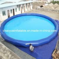 Wholesale Outdoor Small Blue Inflatable Water Kids Pool for Swimming and Walk Roller from china suppliers