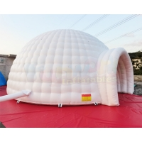 Wholesale Trade show Advertising Camping 10M Inflatable Igloo Dome Tent from china suppliers