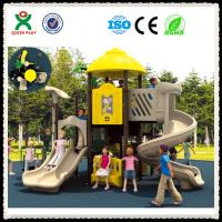 Wholesale China Manufacturer Playground Slide Used Kids Outdoor Playground Slide For Sale QX-008C from china suppliers