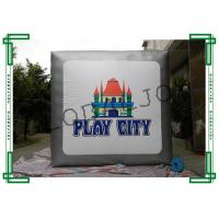 China Outdoor Big Advertising Inflatables Cubes 4m x 4m for Retail Displays on sale